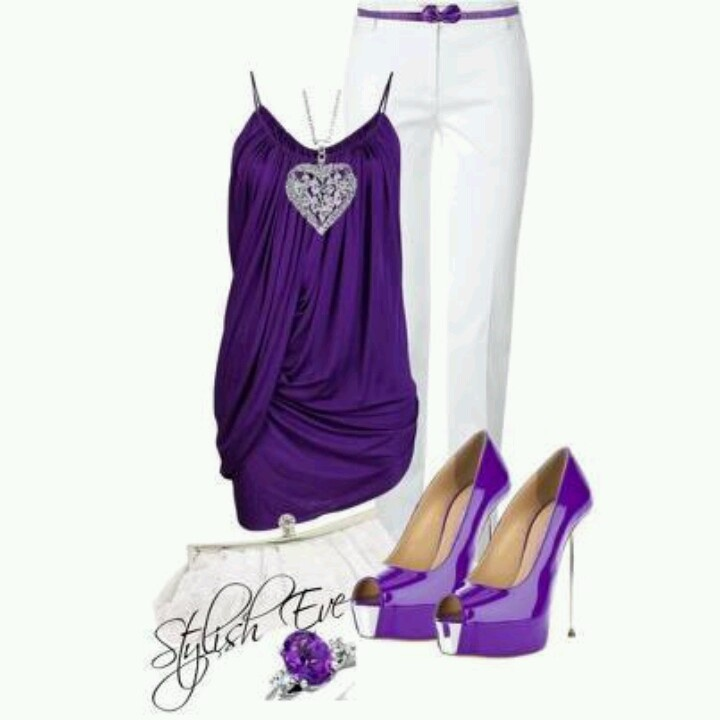 119 best Purple outfits images on Pinterest
