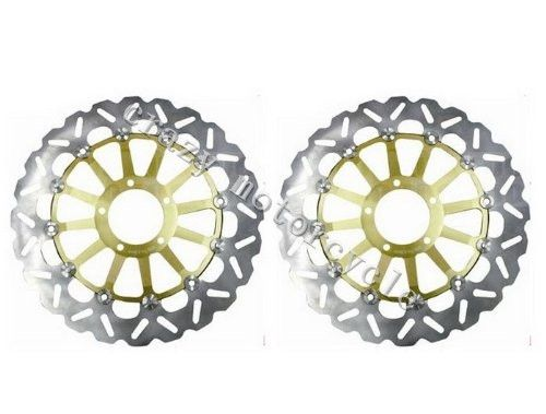 205.20$  Buy here  - Free shipping motorcycle Brake Disc Rotor fit for DUCATI STREETFIGHTER 1100 2009-2011 Front
