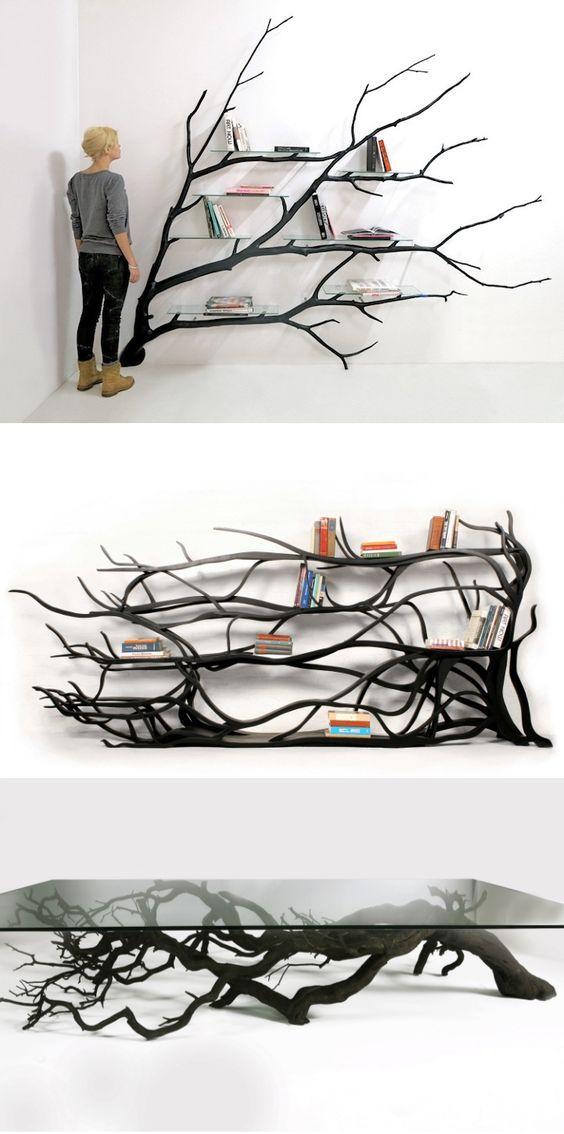 25 best ideas about tree shelf on pinterest tree for Tree shelving unit