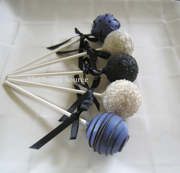 Halloween Wedding Favors: Wedding Cake Pops Made to Order with High Quality Ingredients. $22.00, via Etsy.
