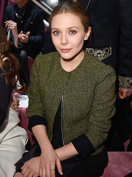 Star Tracks: Tuesday, January 27, 2015 | SINGLED OUT | Elizabeth Olsen is sitting pretty on Monday while snagging a seat at the Christian Dior show during Paris Haute Couture Week.