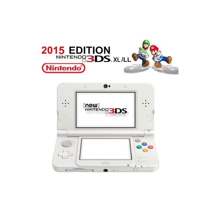 New Nintendo Console White