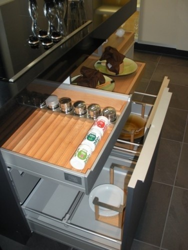 34 best images about caravan storage ideas on pinterest for Caravan kitchen storage ideas