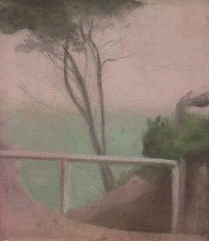 Clarice BECKETT (Australian. (1887 - 1935): Cliff Tops, Beaumaris ...