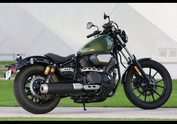 2014 star bolt new motorcycle test ride and review iron for Green yamaha bolt