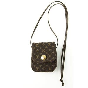 Louis Vuitton Monogram Mini Lin Pochette Cancun Ebene - MInt Conditio | swapshop.gr