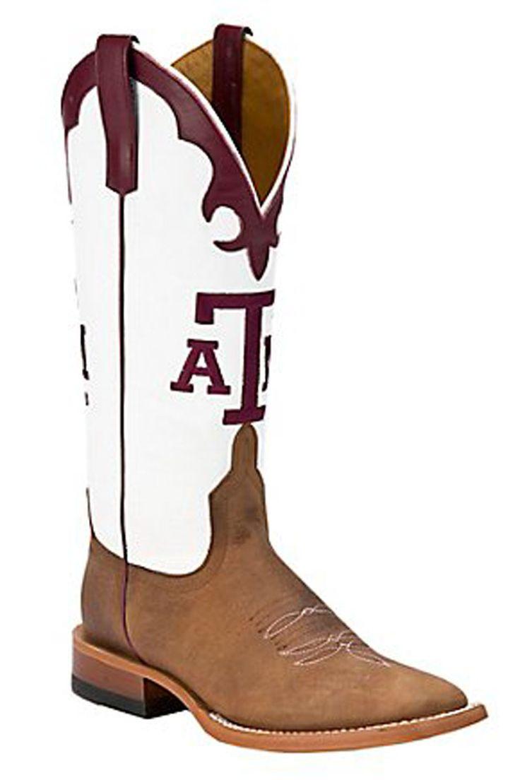 Anderson Bean Texas A Cowboy Boots $209.95