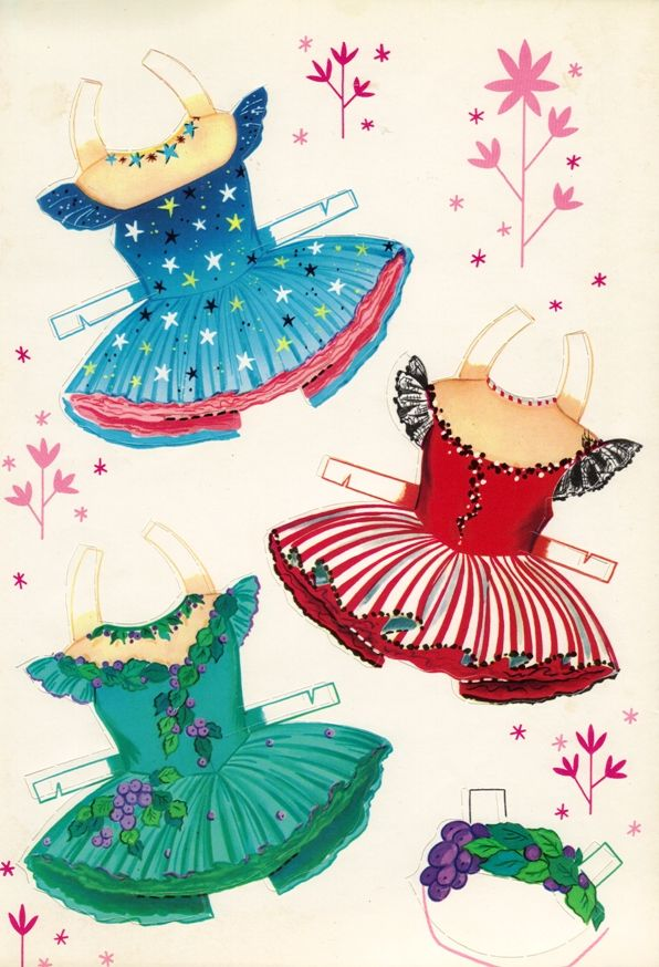 Sharon's Sunlit Memories: More Little Ballerina Paper Dolls (Saalfield)