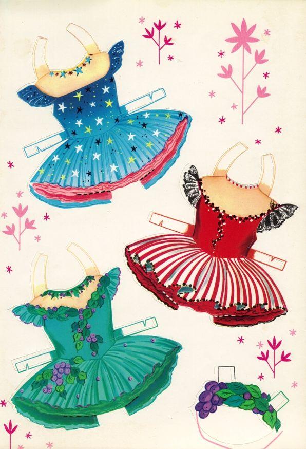 Sharon's Sunlit Memories: More Little Ballerina Paper Dolls (Saalfield)