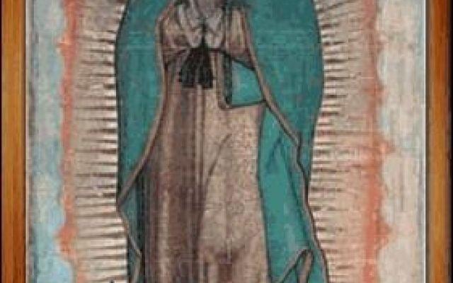 """Le increbili caratteristice del mantello della Vergine di Guadalupe È evidente che tutti questi fatti inspiegabili ci siano stati dati per una ragione: volevano catturare la nostra attenzione... """"Guadalupe"""" significa nell'idioma indigeno: """"schiaccia la testa al serpe #guadalupe #mantello #maria #occhi"""