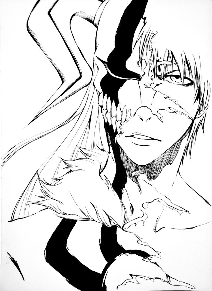 29 Best Bleach Coloring Pages Images On Pinterest Bleach