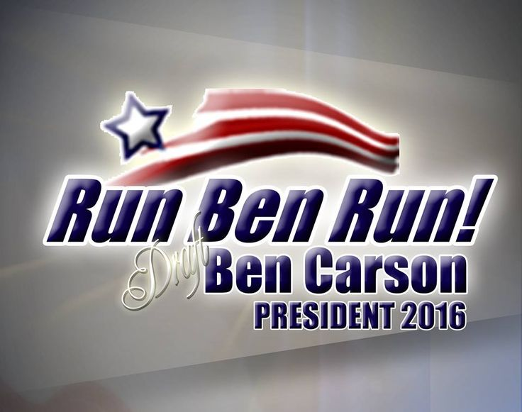 Sign the petition to encourage Dr Ben Carson to run for president in 2016. Spread the word to family and friends. Let's do our part to steer this country in the right direction
