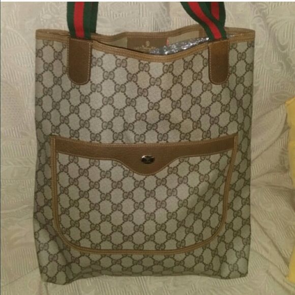 gucci tote bag vintage authentic Gucci Bags Totes