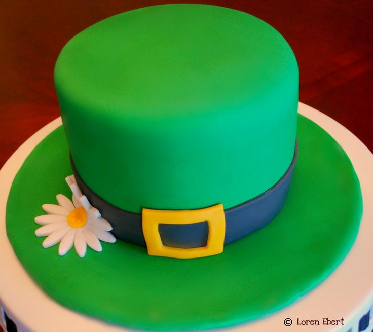 Leprechaun Hat! by The Baking Sheet (2/23/2012)  http://cakesdecor.com/cakes/7873