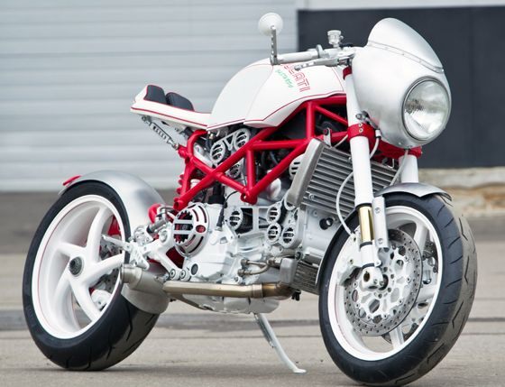 Ducati Custom Cafe Racer  http://extreme-modified.com/page9.php