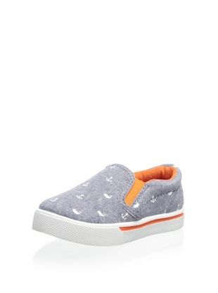 44% OFF Carter's Kid's Damon Casual Slip-On (Blue/Orange)