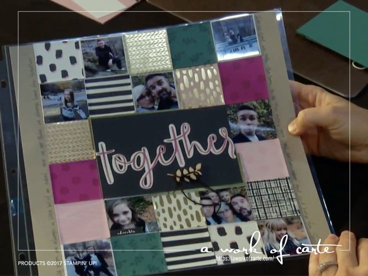 First Look at Bundle of Love Memories & More Cards New Scrapbooking and Memory Keeping System by Stampin' Up