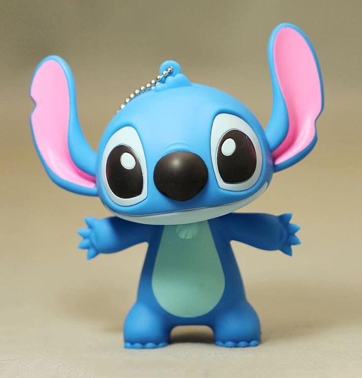 Aliexpress.com: Comprar Lilo & Stitch llavero colgante del bolso juguete suave de la historieta vinilo doll carácter modelo de juguete subaru fiable proveedores en BIZJOY