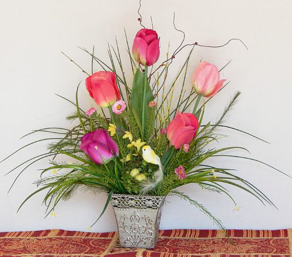 62 best Spring floral ideas images on Pinterest  Flower arrangements, Floral arrangements and