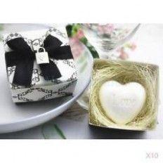 Heart Wedding Soap Favour