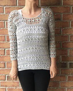8060114294dd9 Ravelry  Pinecrest Pullover pattern by Jennifer Ozses