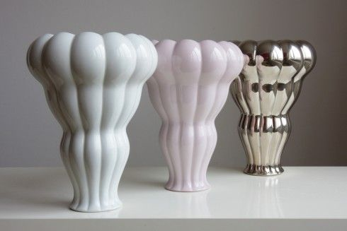 Pin-up vase by Jan Čapek