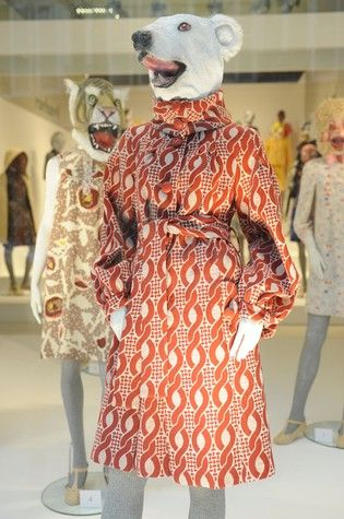 CACHAREL FALL 2008 - ELIE KISHIMOTO For their debut collection, presented on mannequins bedecked with playful animal masks...