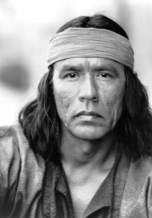 Wes Studi face close up Geronimo