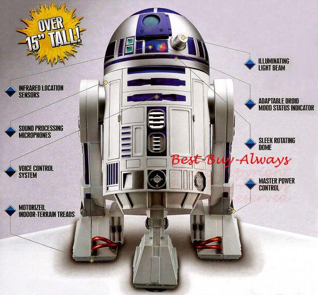 робот из звездных войн r2d2 фото