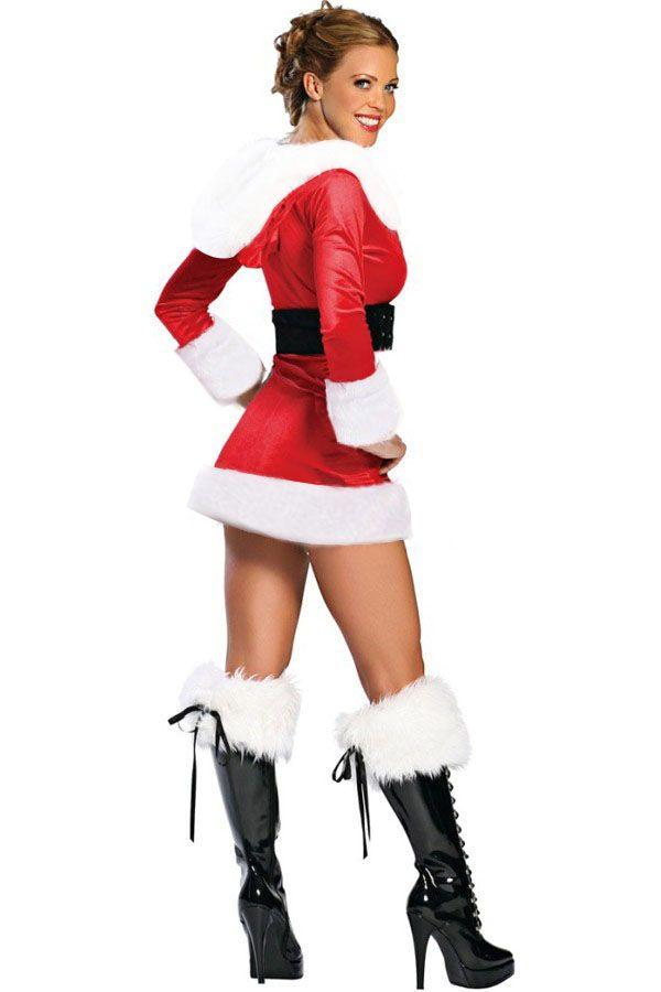 Pin on christmas clothing sexy santa dresses