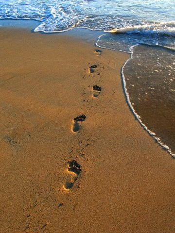 : Footprint Sands, Foot Prints, Beaches Ocean, Myrtle Beaches, Sands Beaches, Fav Places, Seaside Beaches, Sands 62, Sands Water Happy