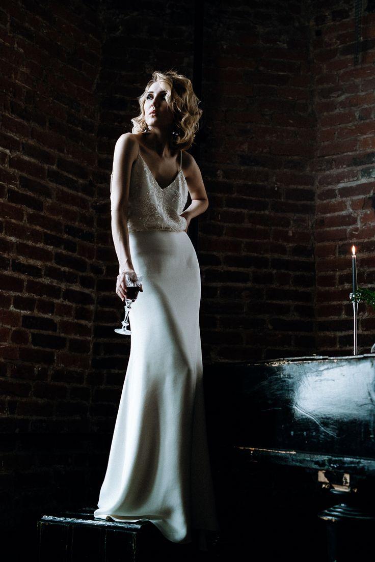Photographer Alina Klinovaya / Organized by Wedding Blues agency / Decorator - Decor Department