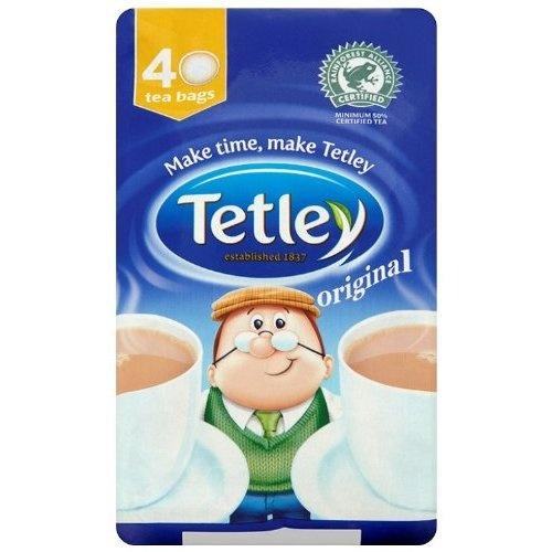 Tetley Tea. Nicest brew by miles. Proper British tea innit! xD