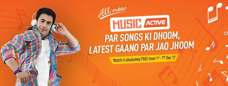 Get Dish TV Music Active Service FREE (1 – 7 December)