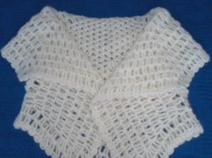 chaleco tejido a crochet   Aprender manualidades es facilisimo.