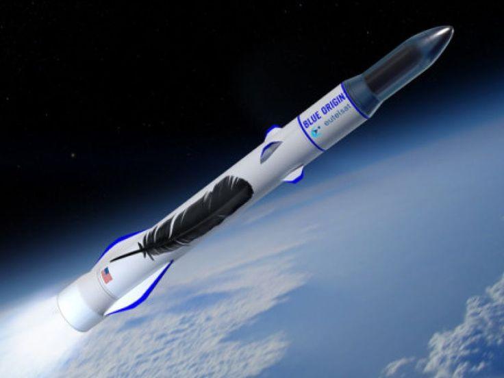 Le fondateur d'Amazon, également patron de la start-up spatiale Blue Origin, vient de frapper un grand coup en signant un contrat de lancement avec l'opérateur Eutelsat pour safuture fusée New Glenn. Une sacrée pierre dans le jardin de SpaceX et Arianespace.