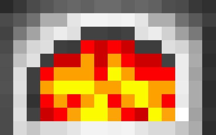 Minecraft Furnace Wallpaper by LynchMob10-09.deviantart.com on @DeviantArt