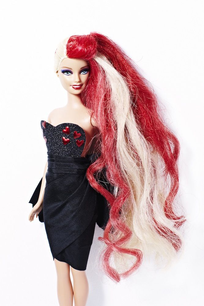 Barbie a la Bleach London.