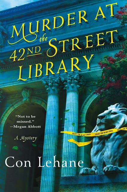 A Bookaholic Swede: Cover Crush: Murder at the 42nd Street Library by Con Lehane