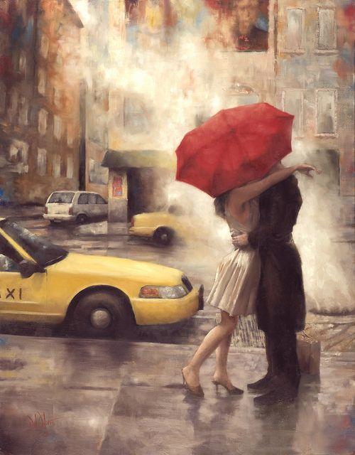 Daniel Del Orfano, The Long Good Bye. oil con canvas                                                                     42 x 48Oil on Canvas