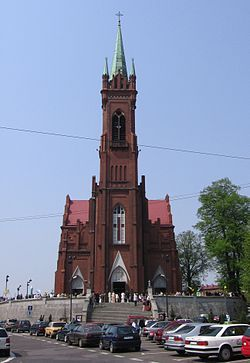 Zgierz, Poland.   Moms church
