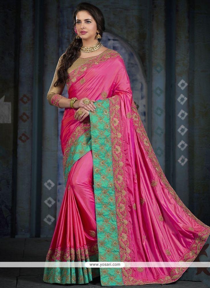 Radiant Brocade Pink Traditional  Saree Model: YOSAR11689