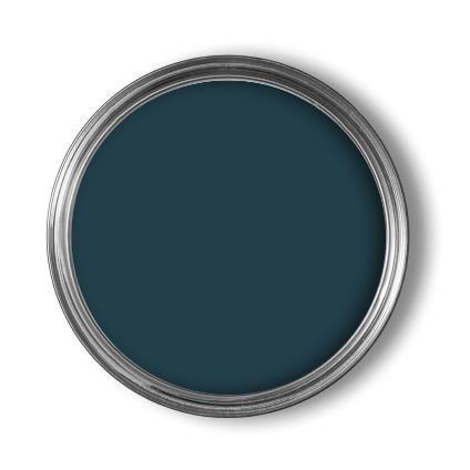 Meer dan 1000 idee n over muurverf patronen op pinterest - Kleur blauwe verf ...