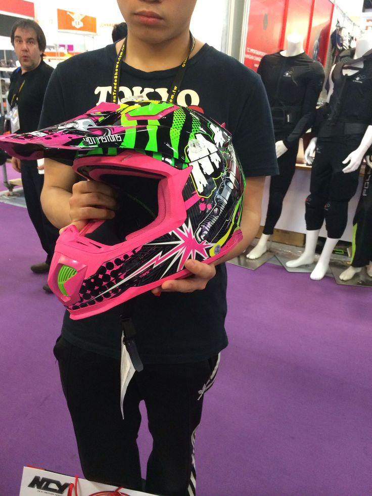 Masei M+ 315 Pink ATV Motocross Helmet