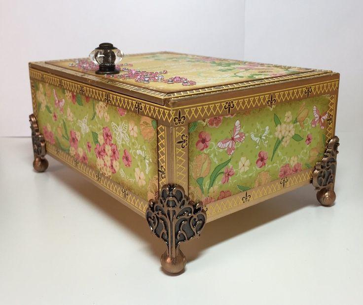 72 best cigar box crafts images on pinterest cigar box for Cardboard cigar box crafts