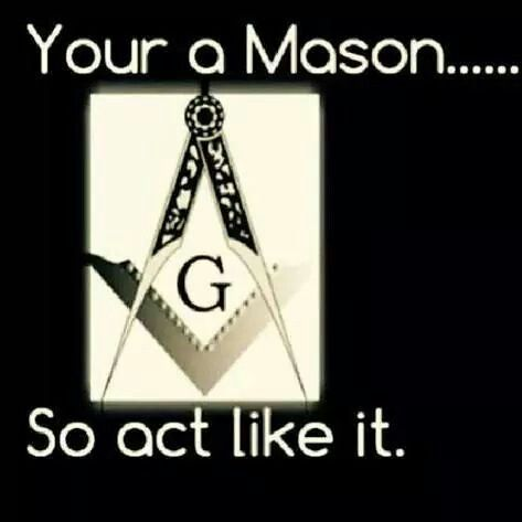 I'm not going to entertain the grammar here but I don't see the possession of a Mason; oh wait, the oath and obligations, right... This can be overlooked I suppose but you are a Mason then you would want to say You're*... I wouldn't mind owning a Mason though. Oneness would be as we would act and we would act freely without having restrictions to silence... OK I'm done playing grammar geek...