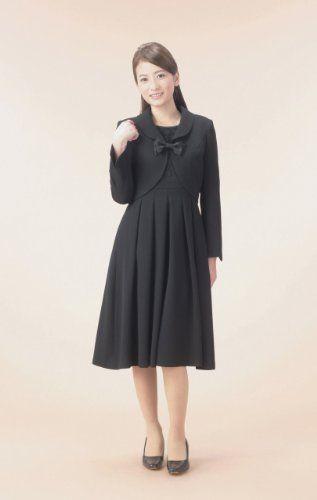 Amazon.co.jp: (マーガレット)m442 marguerite ブラックフォーマル レディース アンサンブル 礼服: 服&ファッション小物