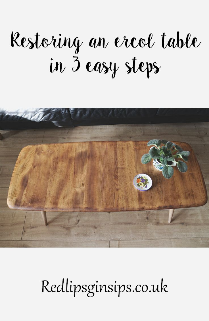 Buying and restoring vintage furniture can be daunting but it doesn't have to be. I will show you how to restore an Ercol blonde coffee table in 3 easy steps using danish oil and elbow grease!