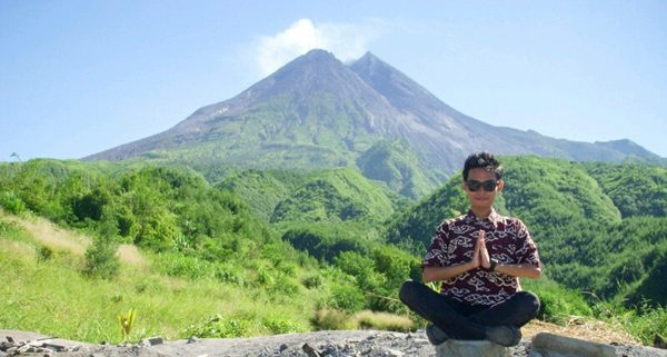 Merapi, Photo By @tama_cambridge