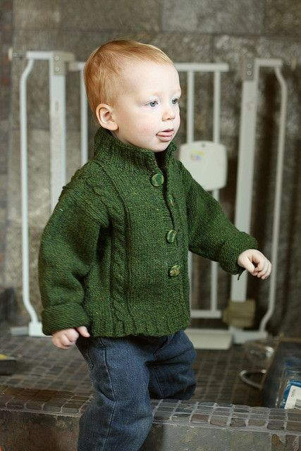 Ann Budd's pattern Modified Drop Shoulder Sweater - Child, knit using Harrisville Designs' Shetland yarn.